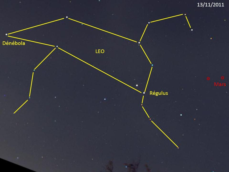 Régulus LEO Dénébola Mars 13/11/2011