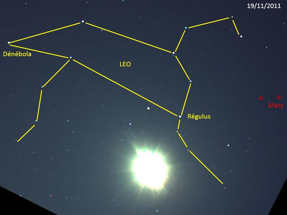 Régulus LEO Dénébola Mars 19/11/2011