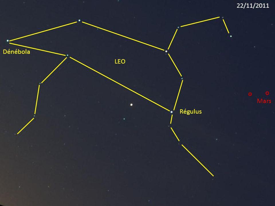 Régulus LEO Dénébola Mars 22/11/2011