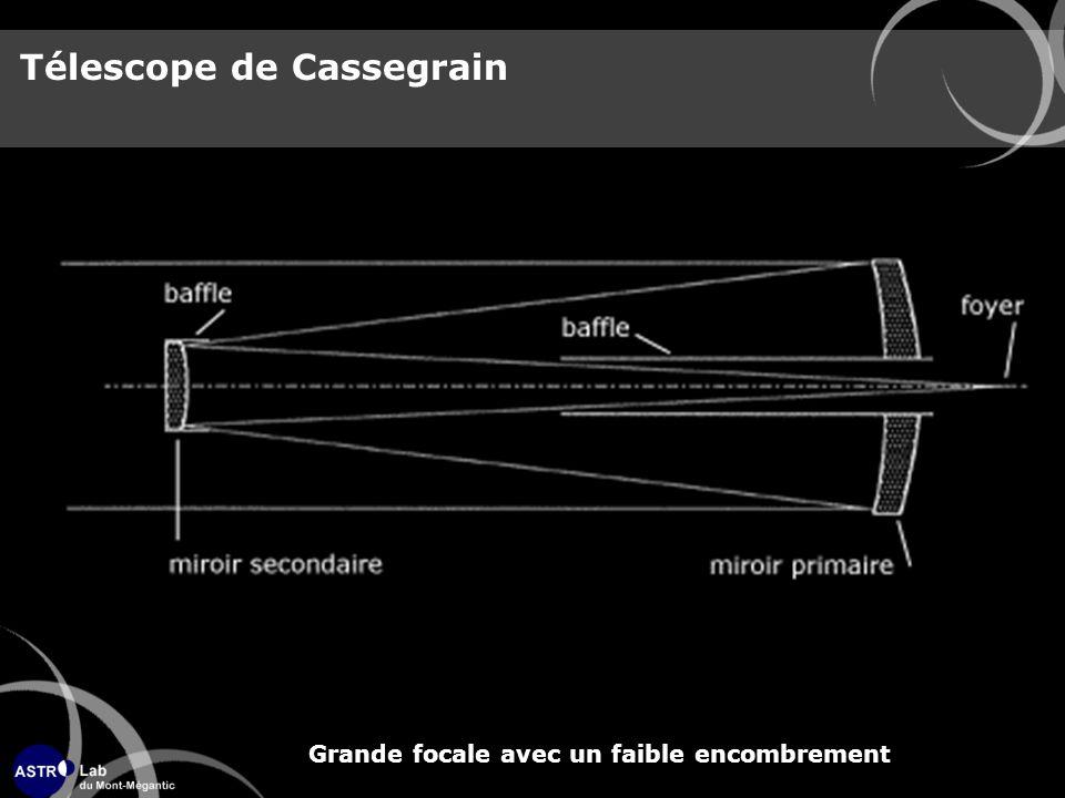 Télescope de Cassegrain Grande focale avec un faible encombrement