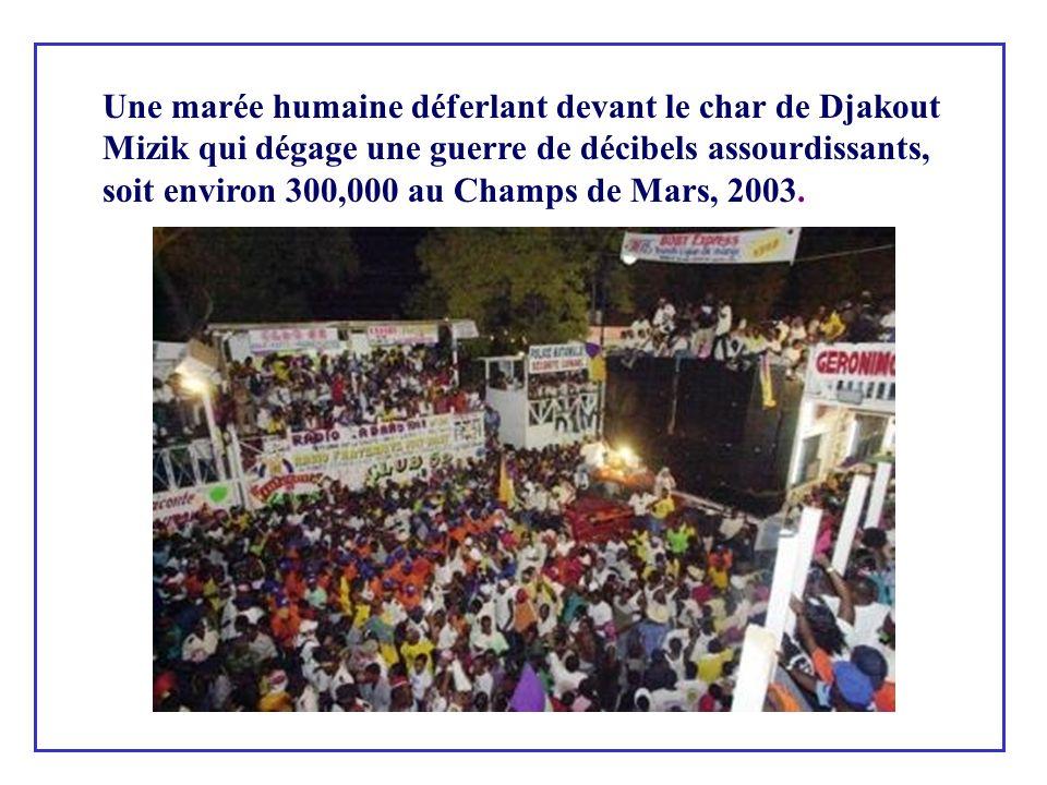 Après l Indépendance, le carnaval devint une vraie réjouissance populaire déambulant dans les rues.