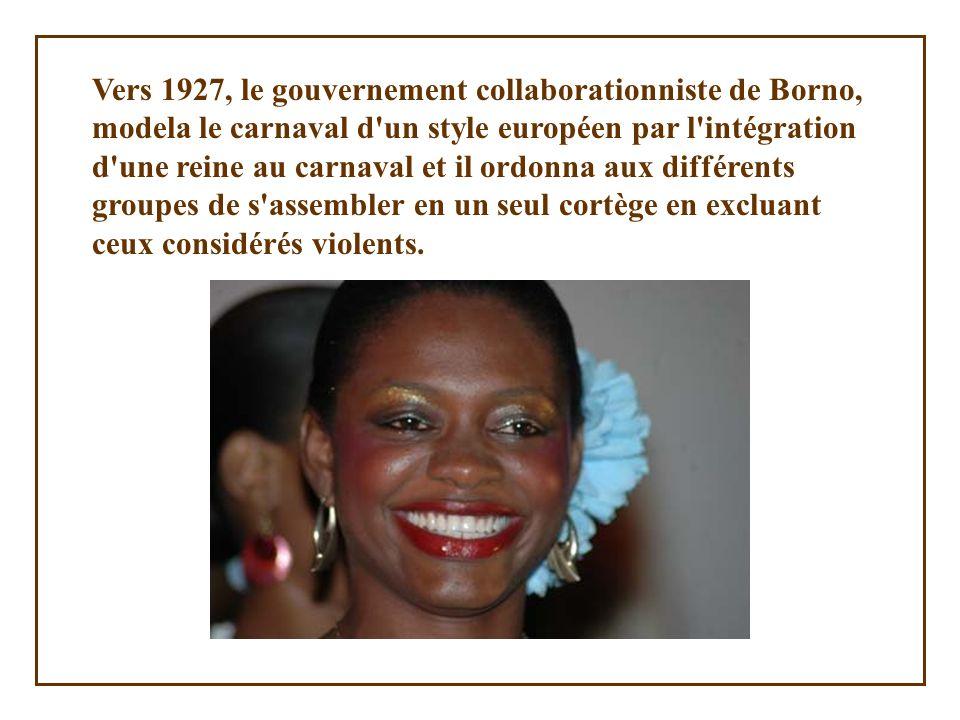 Une de nos beautés haïtiennes au carnaval de 2006, on dirait une Reine Soleil !