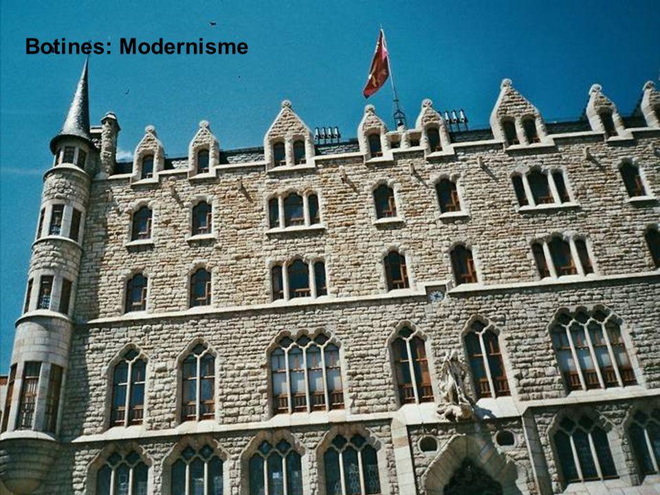 Botines: Modernisme