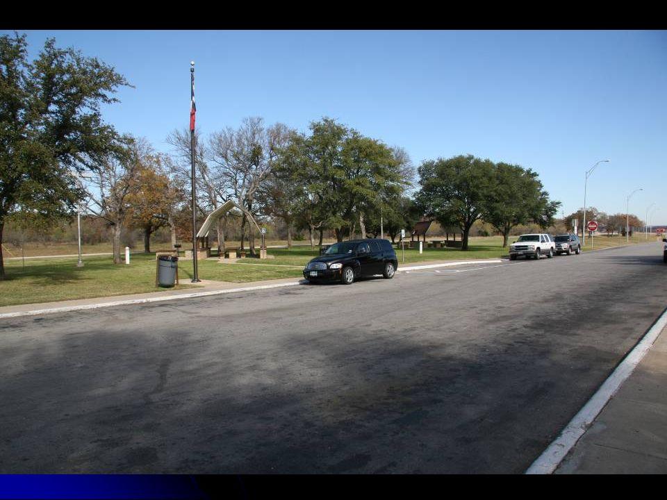 La campagne près de San Angelo TX.