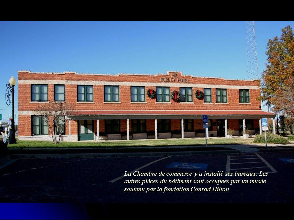 La Chambre de commerce y a installé ses bureaux.