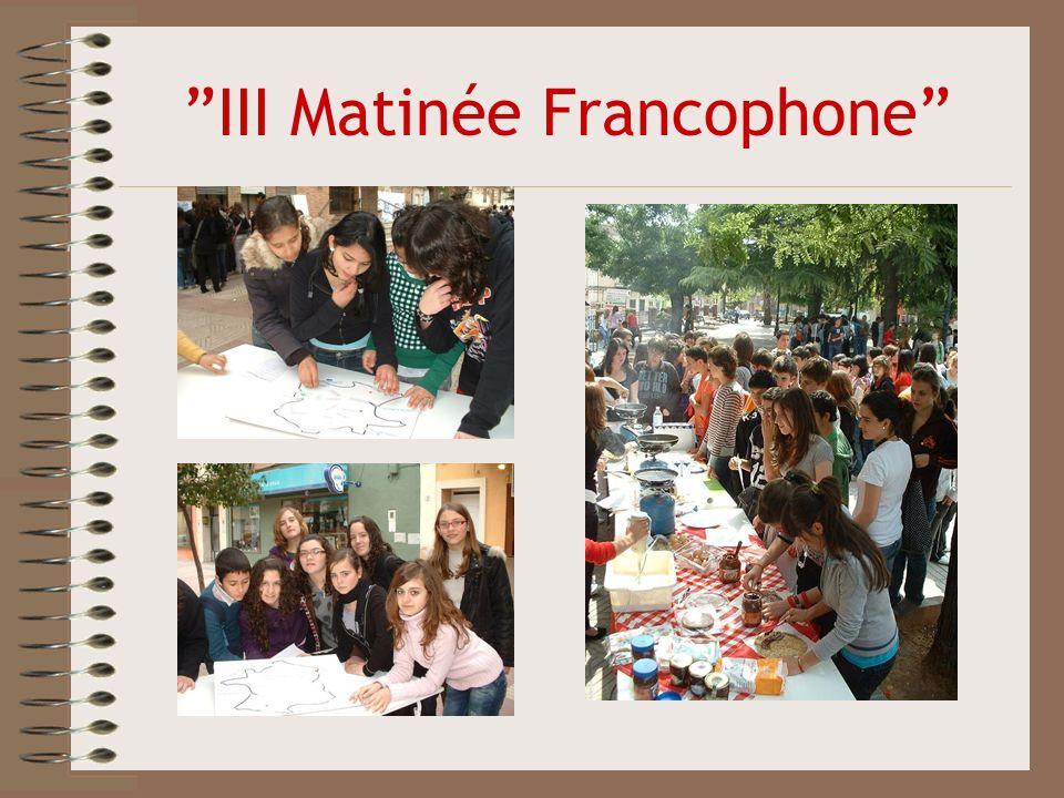 III Matinée Francophone