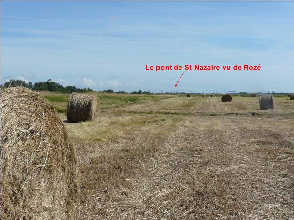 Le pont de St-Nazaire vu de Rozé