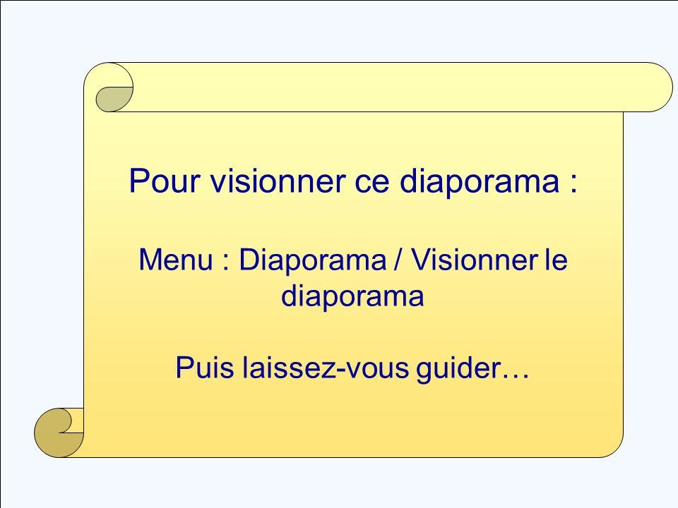 IAM.M - CRSP Du papier au fichier numérique – Octobre 2000 1 Pour visionner ce diaporama : Menu : Diaporama / Visionner le diaporama Puis laissez-vous