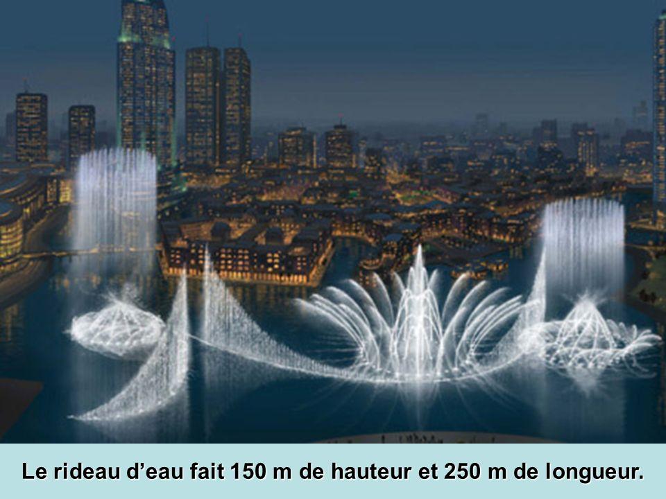 La plus grande fontaine musicale au monde.