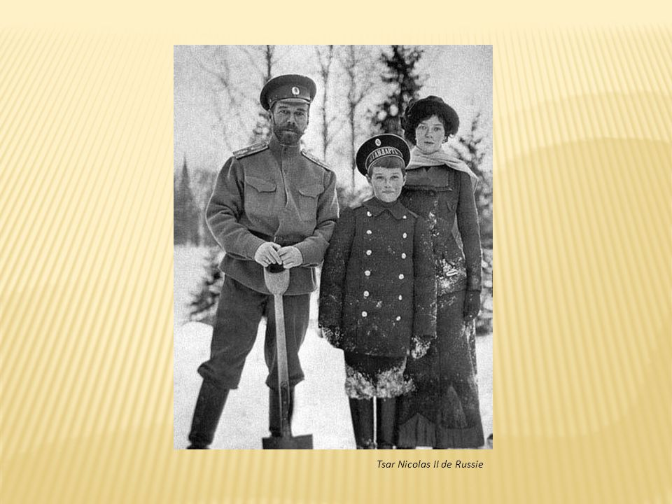 Soldats russes