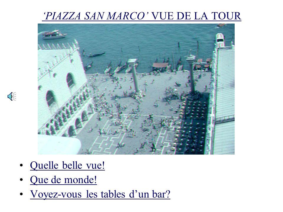 LE PALAIS DES DOGI ET LE PONT DES SOUPIRS Ce ferry-boat va au Lido, nest-ce pas?Ce ferry-boat va au Lido, nest-ce pas? Oui, et puis on peut prendre le