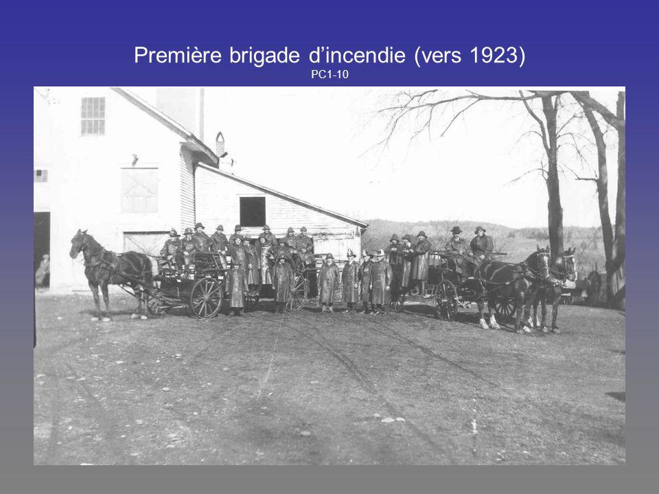 Première brigade dincendie (vers 1923) PC1-10