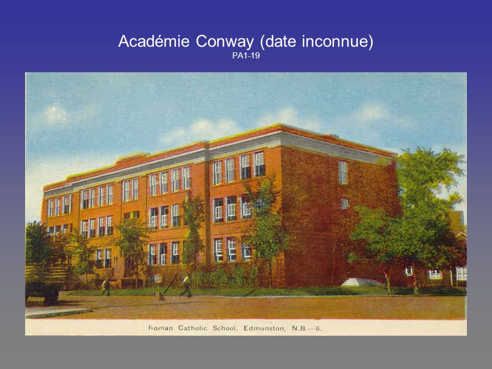 Académie Conway (date inconnue) PA1-19