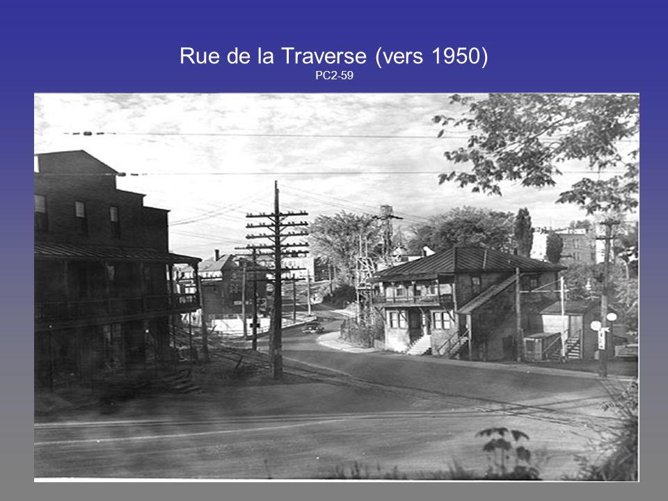 Rue de la Traverse (vers 1950) PC2-59