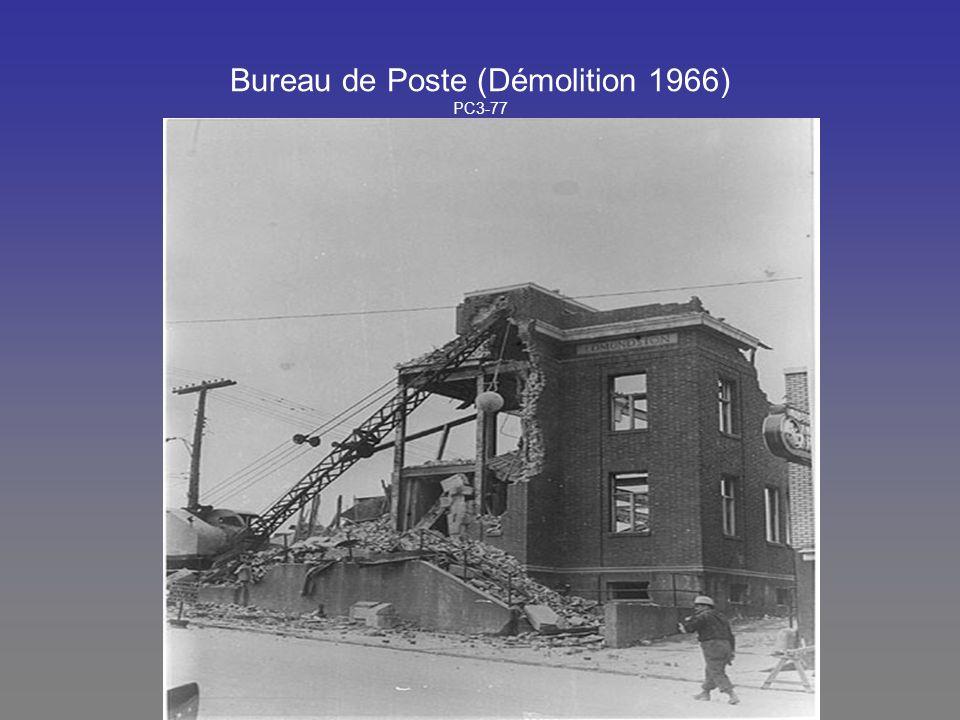 Bureau de Poste (Démolition 1966) PC3-77