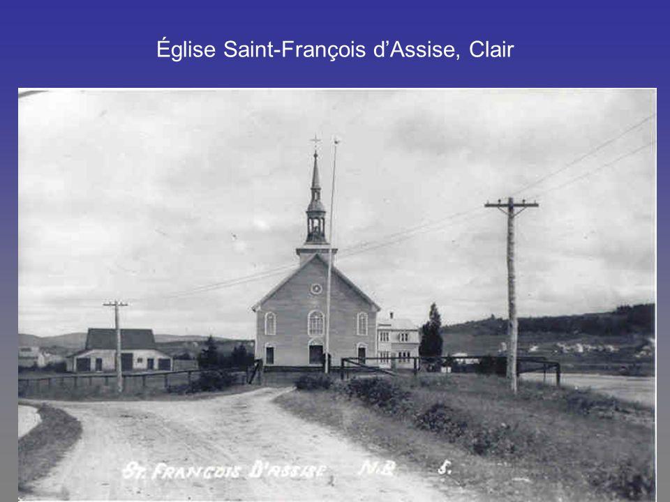 Église Saint-François dAssise, Clair