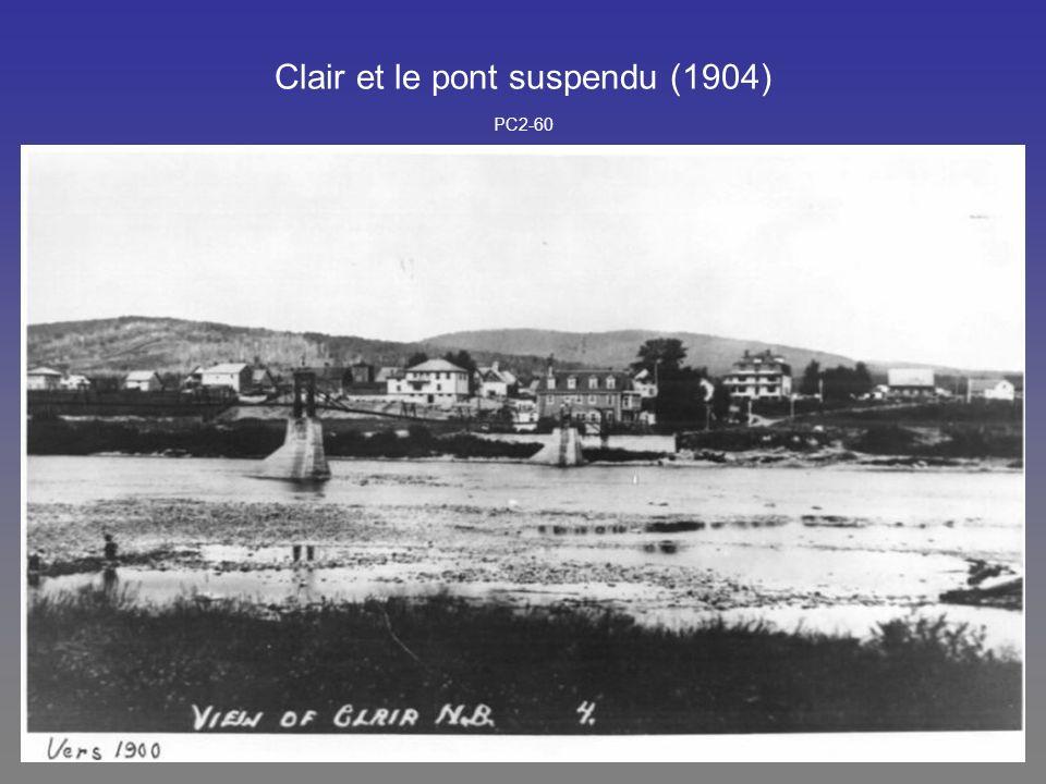 Clair et le pont suspendu (1904) PC2-60