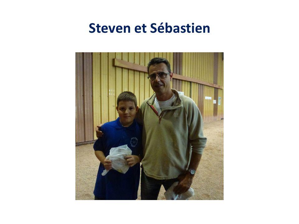 Steven et Sébastien