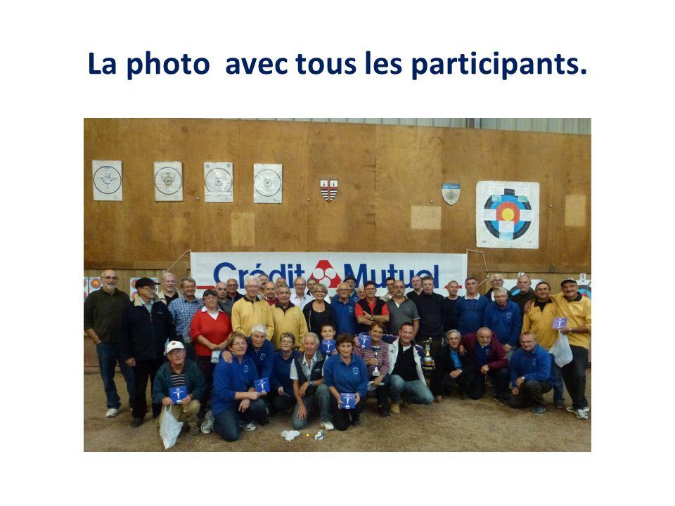 La photo avec tous les participants.