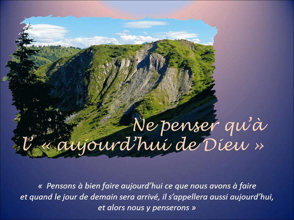 « Lempressement, lagitation ne servent à rien. Le désir dune vie spirituelle est une bonne chose, mais quelle soit sans agitation ». « La guérison qui