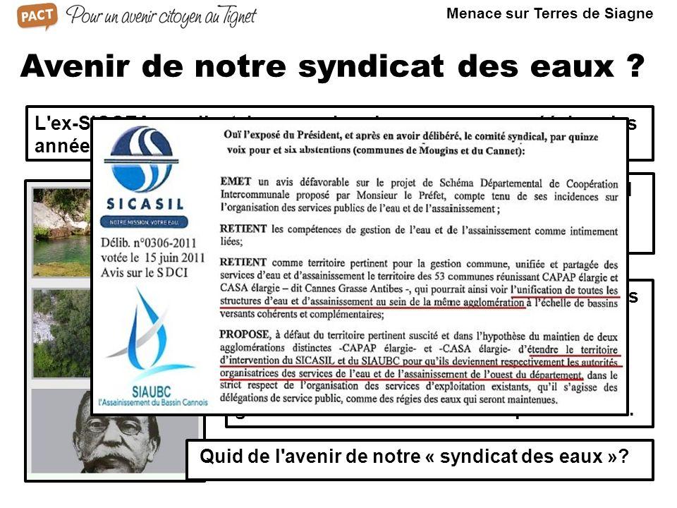 Dissous et intégré à la CCTS, il continue son rôle en tant que «Régie du Canal Belletrud».