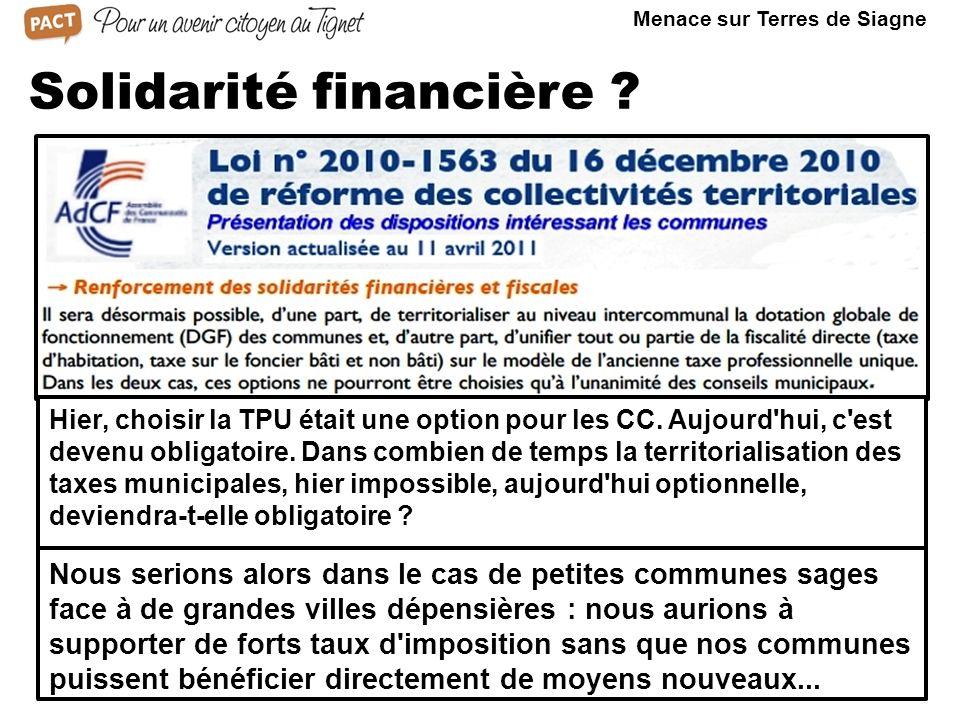 Le cas du Pays de Fayence Dans le Var aussi, le SDCI du Préfet prévoyait 6 grandes CA.