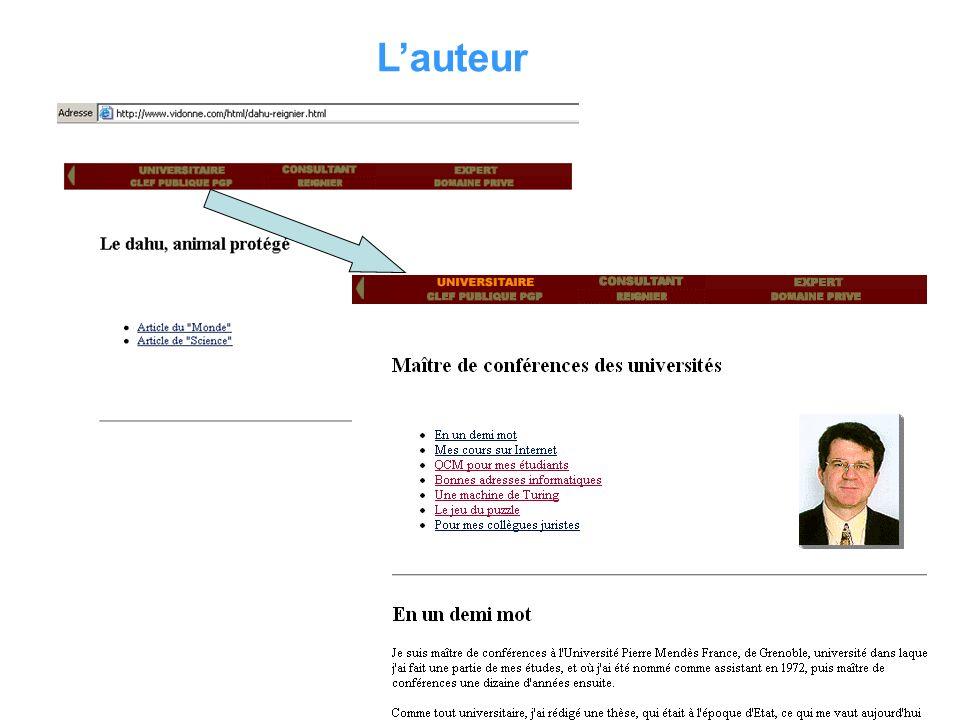 Il est identifié On peut le contacter par mail Il se décrit comme LE spécialiste du dahu de Camargue, mais peut-on le vérifier? Lauteur