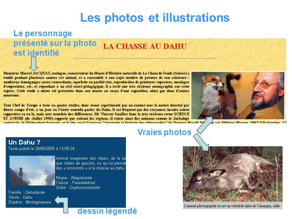Titre du site Adresse du site (url) Auteur Mise à jour Sources citées et identifiées Photos / Illustrations
