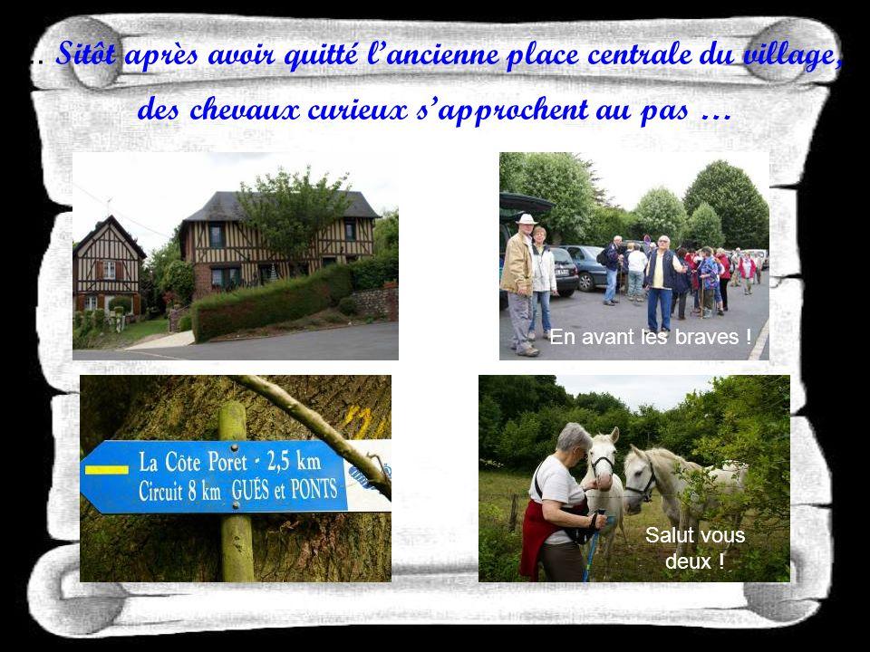 En ce mardi 14 juin 2011, le circuit de Saint-Grégoire-du-Vièvre soffre aux marcheurs de lA N R groupe de lEure.