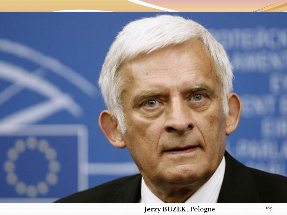Jerzy BUZEK, Pologne 109