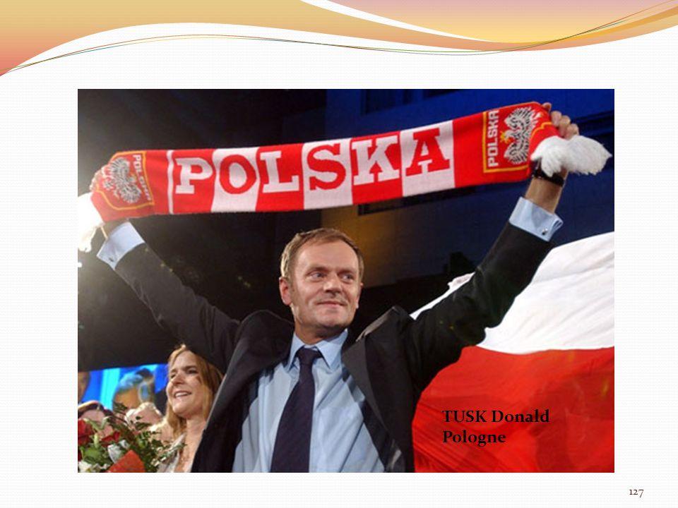 TUSK Donald Pologne TUSK Donald Pologne 127