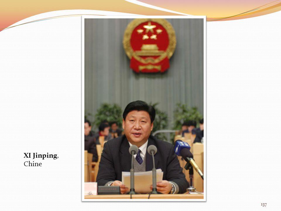 XI Jinping, Chine 137