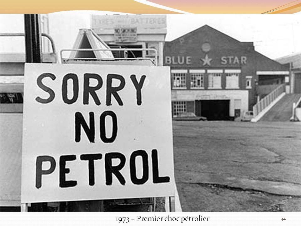 1973 – Premier choc pétrolier 34