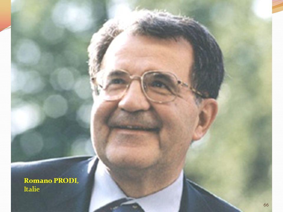 Romano PRODI, Italie 66