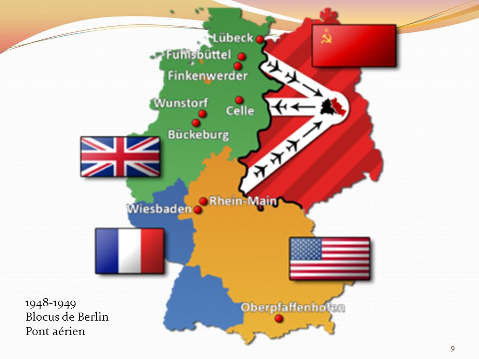 1948-1949 Blocus de Berlin Pont aérien 9