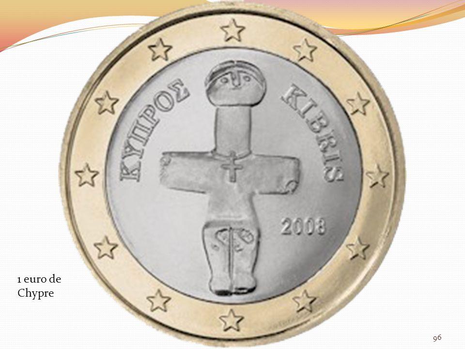 1 euro de Chypre 96