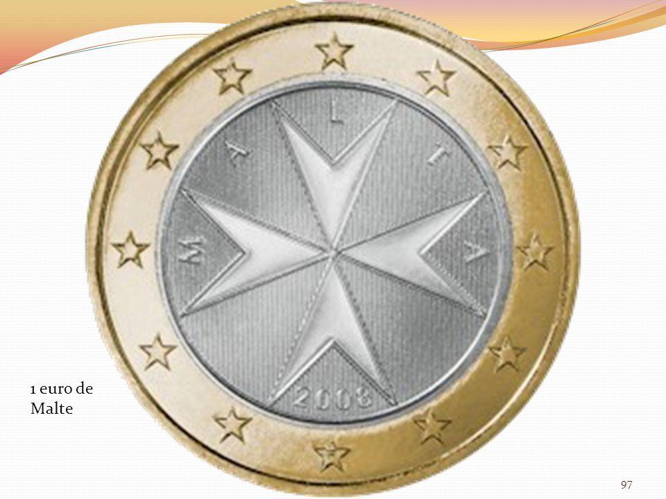 1 euro de Malte 97