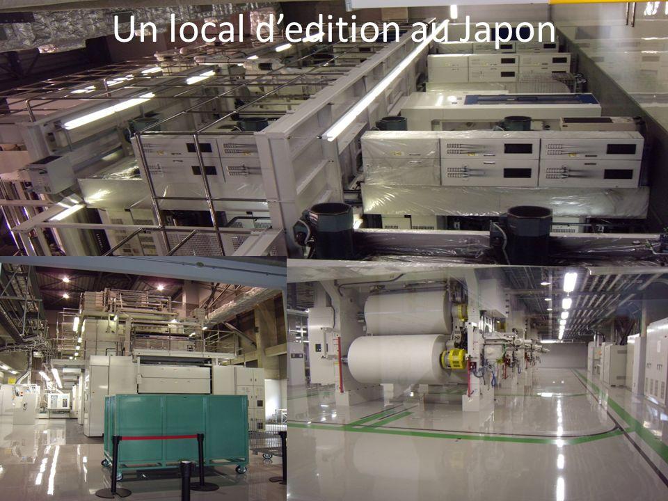 Un local dedition au Japon