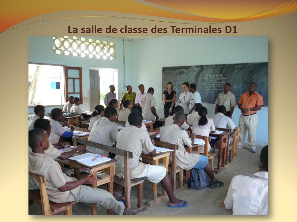 La salle de classe des Terminales D1