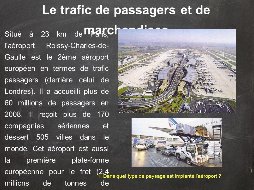 Situé à 23 km de Paris, l'aéroport Roissy-Charles-de- Gaulle est le 2ème aéroport européen en termes de trafic passagers (derrière celui de Londres).