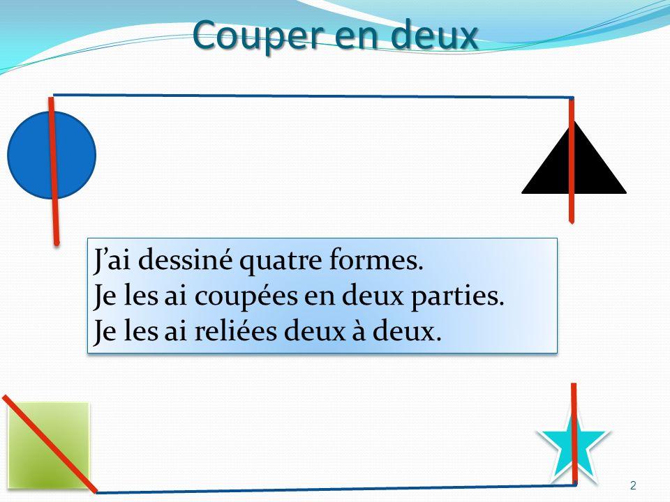 Par Alexis en vacances sur la Côte dAzur Le 16 Avril 2012 1 Je souhaite partager en deux les formes géométriques: un trait, un angle, un cercle … Déco