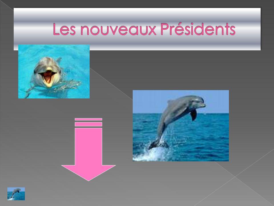 Nouvelle présidente
