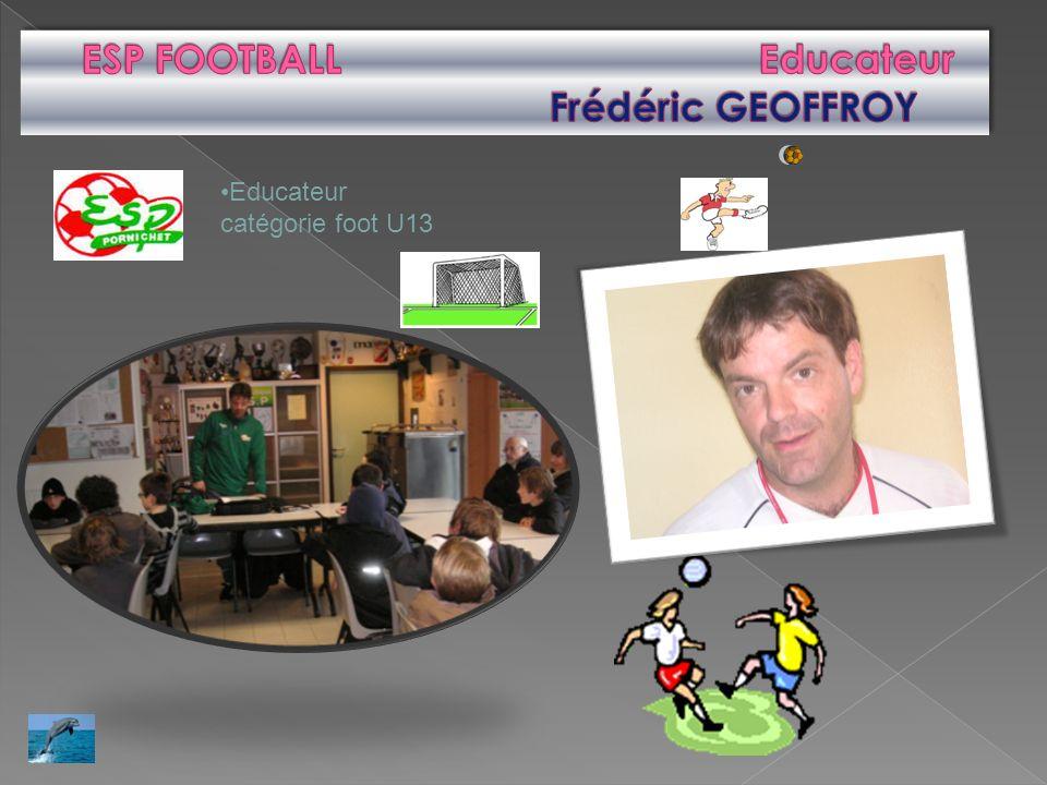 Educateur catégorie foot U13