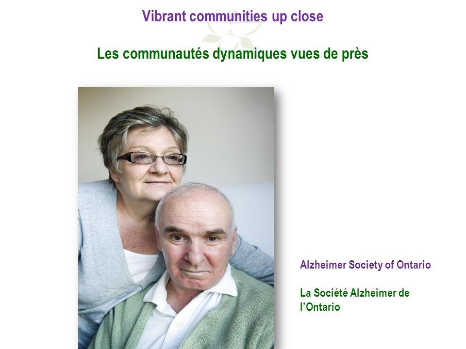 Alzheimer Society of Ontario La Société Alzheimer de lOntario
