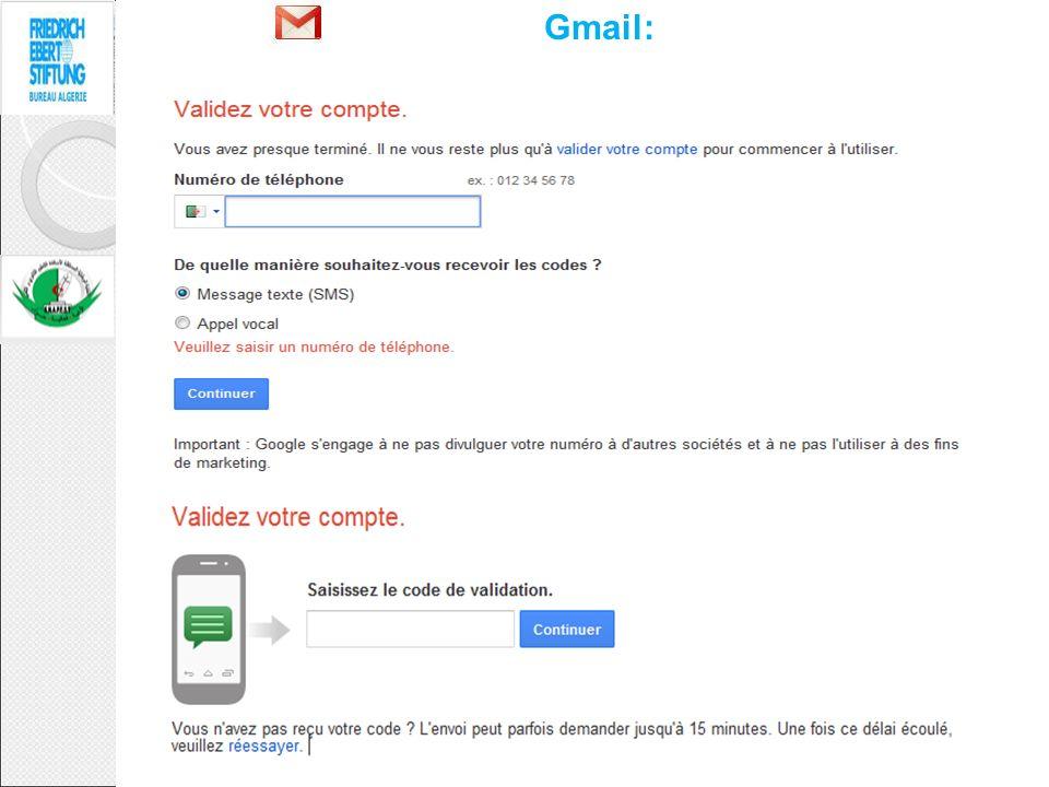 Gmail: