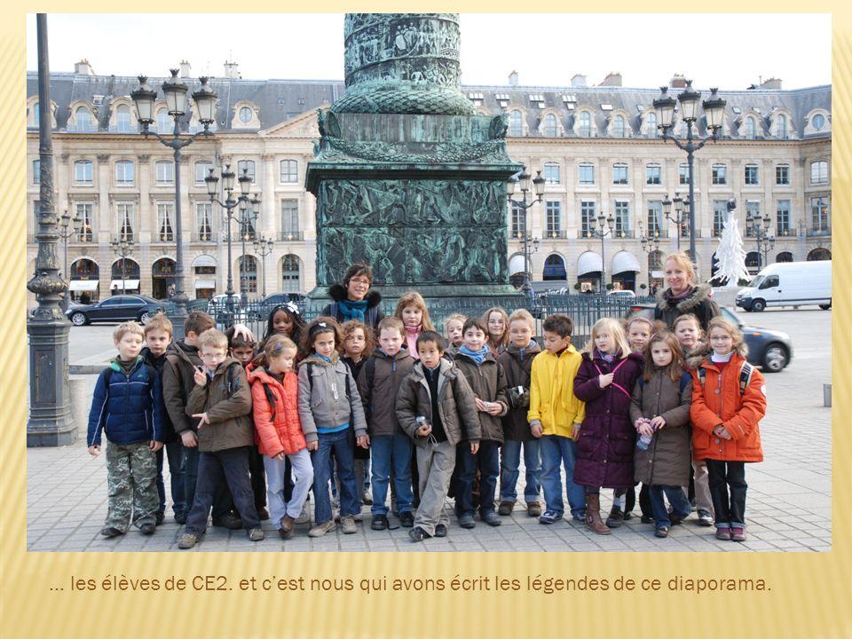 … les élèves de CE2. et cest nous qui avons écrit les légendes de ce diaporama.
