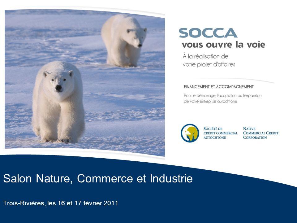 Salon Nature, Commerce et Industrie Trois-Rivières, les 16 et 17 février 2011