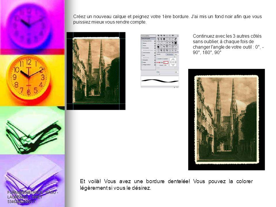 2ème exemple.Vous pouvez également créer une forme à partir d une photo.