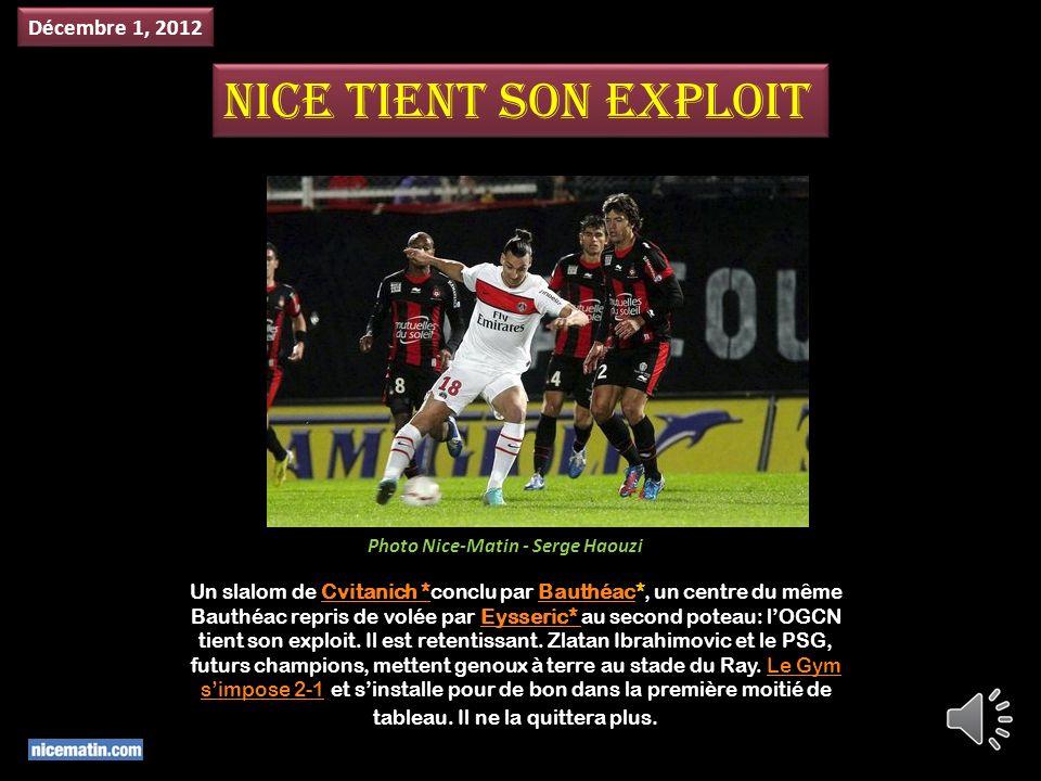Aux portes de la zone rouge après dix matches (17e), lOGC Nice décolle enfin.