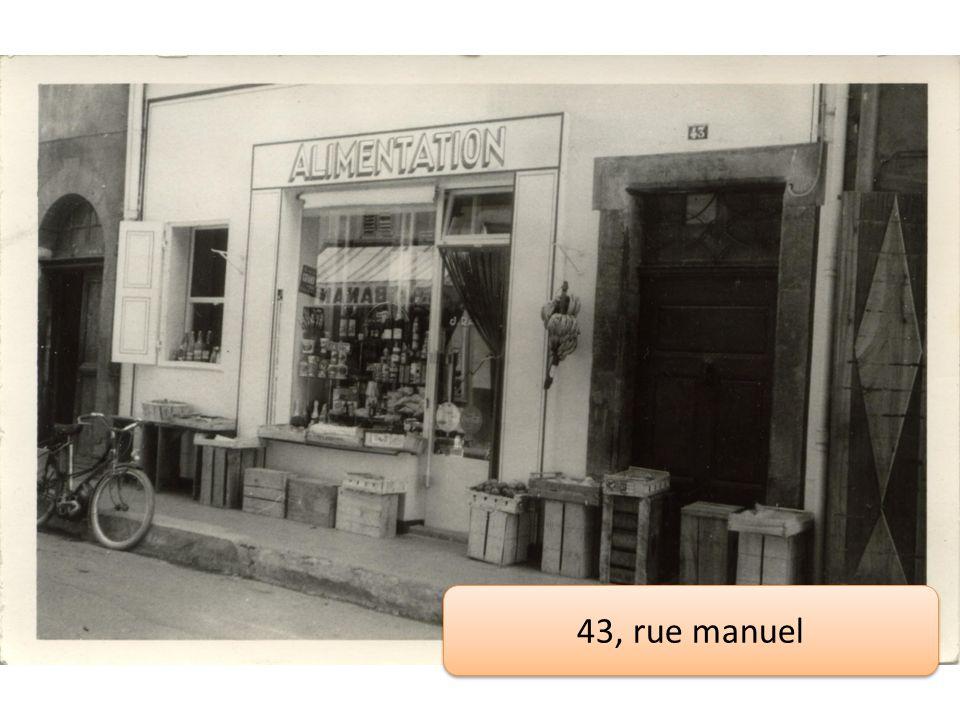 43, rue manuel